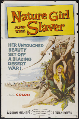 Nature Girl and the Slaver (Liane, die weiße Sklavin / Liane, the White Slave) (1957, Germany / Italy) movie poster