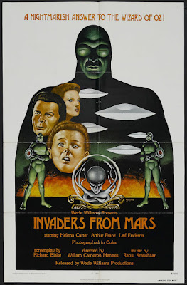 Invaders from Mars (1953, USA) movie poster