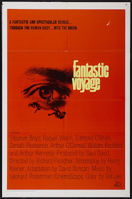Fantastic Voyage (1966, USA) movie poster