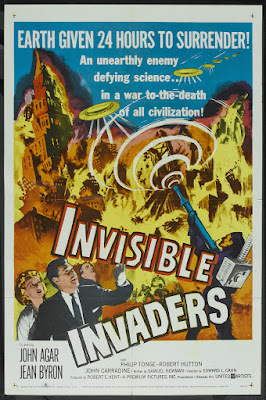Invisible Invaders (1959, USA) movie poster