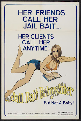 Jailbait Babysitter (1977, USA) movie poster