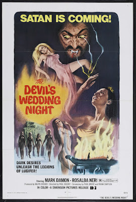 The Devil's Wedding Night (Il Plenilunio delle vergini / Full Moon of the Virgins) (1973, Italy) movie poster