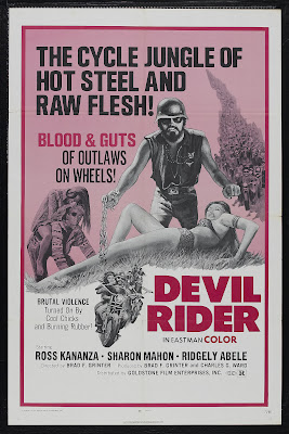Devil Rider (1970, USA) movie poster