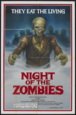 Virus (aka Hell of the Living Dead, aka Night of the Zombies, aka Zombie Creeping Flesh) (1980, Italy / Spain) movie poster