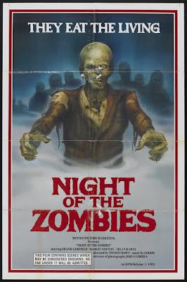 Virus (aka Hell of the Living Dead, aka Night of the Zombies, aka Zombie Creeping Flesh) (1980, Italy / Spain) movie poster
