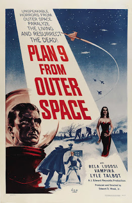 Plan 9 from Outer Space (1959, USA) movie poster