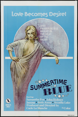 Summertime Blue (1979, USA) movie poster