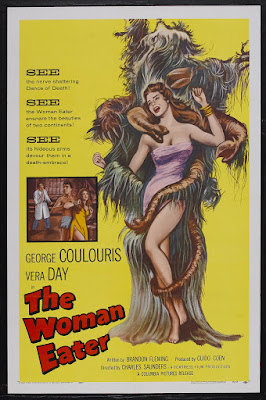 The Woman Eater (1958, UK) movie poster