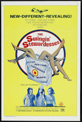The Swingin' Stewardesses (Die Stewardessen) (1971, Switzerland) movie poster
