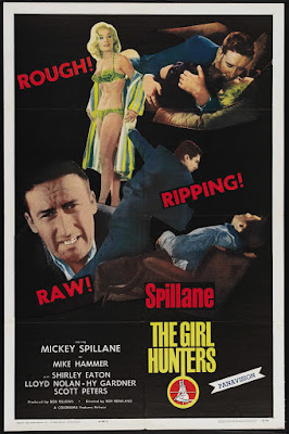 The Girl Hunters (1963, UK) movie poster