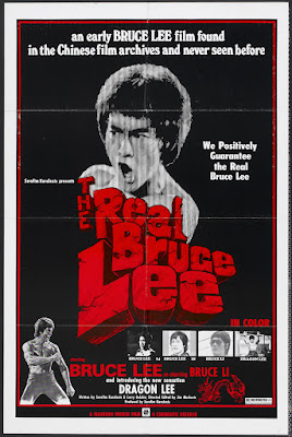 The Real Bruce Lee (1977, Hong Kong) movie poster
