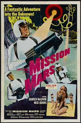 Mission Mars (1968, USA) movie poster