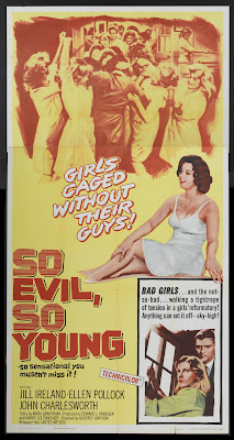 So Evil, So Young (1961, UK) movie poster