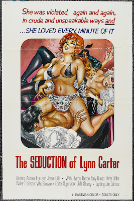 The Seduction of Lyn Carter (1974, USA) movie poster