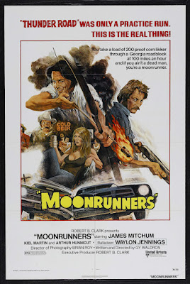 Moonrunners (1975, USA) movie poster