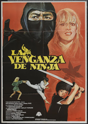 Revenge of the Ninja (1983, USA) movie poster