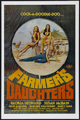 The Farmer's Daughters (1976, USA) movie poster