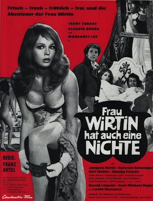 The Niece of Frau Wirtin (Frau Wirtin hat auch eine Nichte, aka House of Pleasure) (1969, Germany / Italy / Austria) movie poster