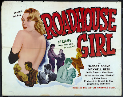 Roadhouse Girl (aka Marilyn) (1953, UK) movie poster