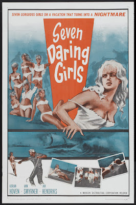 Seven Daring Girls (Die Insel der Amazonen / The Amazon Island) (1960, Germany) movie poster