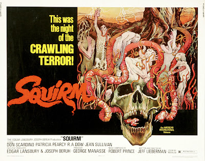 Squirm (1976, USA) movie poster