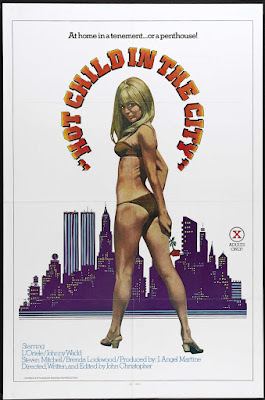 Hot Child in the City (1979, USA) movie poster