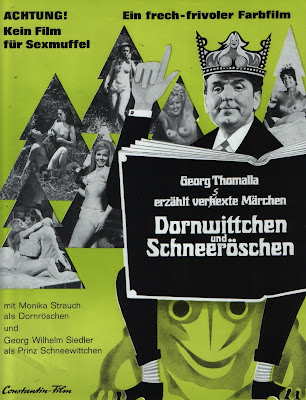 Rose Red and Snow White (Dornwittchen und Schneeröschen) (1970, Germany) movie poster