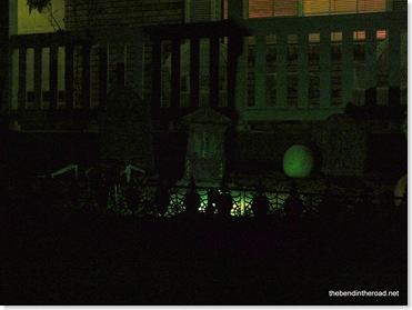 The View of the Graveyard at Night