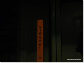 Orange Halloween Sidelight