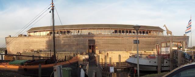Ark van Noach 10 oktober 2008 (klik voor een vergroting)