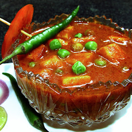 Indian curry by Shiva Ranjita - Food & Drink Cooking & Baking ( meals, food, eating, india, curry,  )
