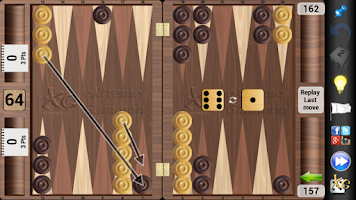 Screenshot of XG Mobile Backgammon