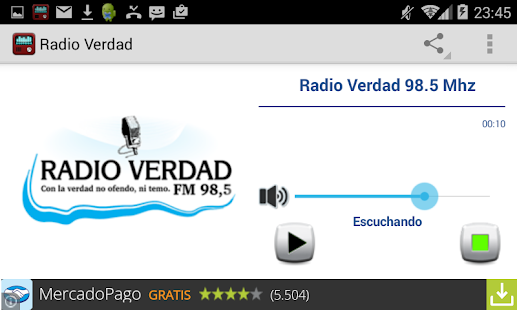 Radio Verdad Villa Dolores - screenshot