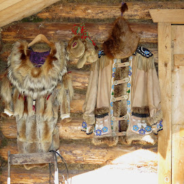 Athabaskan Native outer clothing. by David Gilchrist - Artistic Objects Clothing & Accessories ( native, clothing, fairbanks, athabaskan, alaska )