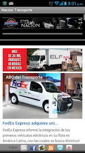 Nacion Transporte - screenshot