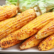 Grilled Corn with Smokey Lime Mayo
