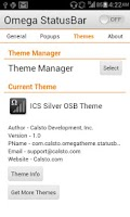 Screenshot of ICS Grey OSB Theme