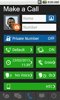 Screenshot of Fake Call & SMS