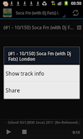 Screenshot of Soca Music Radio Stations