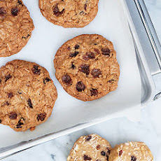 Slice-and-Bake Oatmeal Raisin Cookies
