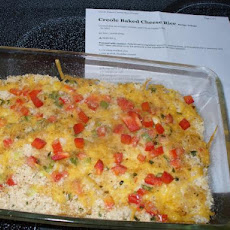 Creole Baked Cheese Rice