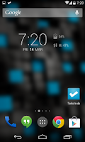 Screenshot of DashClock Data Usage Extension