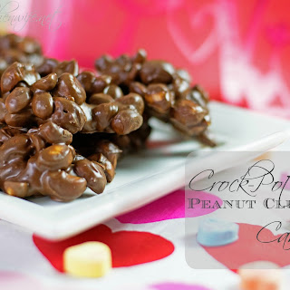 Crock-Pot Peanut Cluster Candy