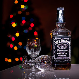Jack D by Maurizio Tuccio - Food & Drink Alcohol & Drinks ( glasses, alcohol, drink, christmas, bokeh,  )