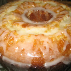 Lemon Glazed Pound Cake