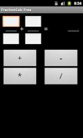Screenshot of Fraction Calculator Free