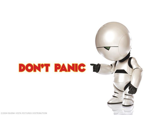 don't panic marvin