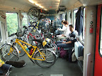 IC trein naar Frankfurt