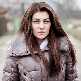 My girl  by Ивайло Цветанов - People Portraits of Women ( girls, street art )