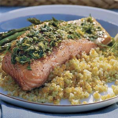 Lemon-Grilled Salmon